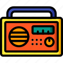 appliance, home, house, household, radio icon