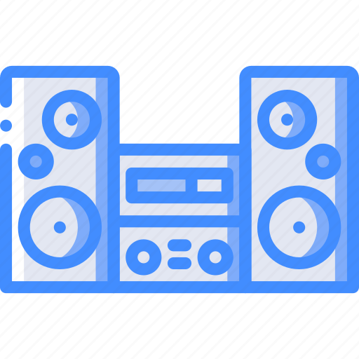Appliance, home, house, household, speakers icon - Download on Iconfinder