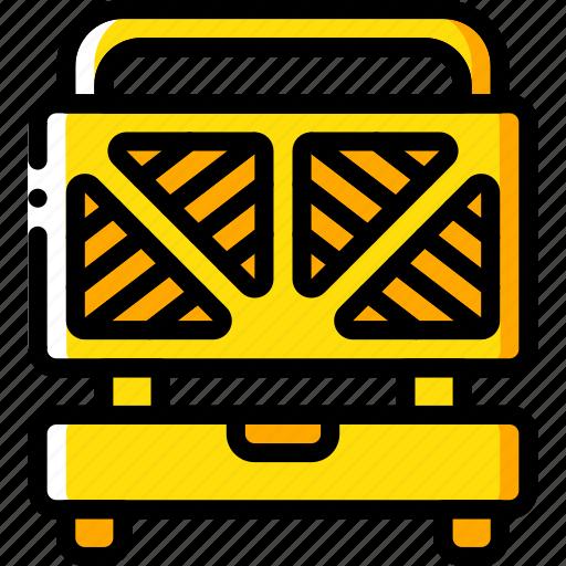 appliance, home, house, household, machine, toastie icon