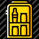 appliance, fridge, home, house, household, mini icon
