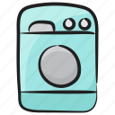 drying machine, laundry machine, washer dryer, washing clothes, washing machine icon