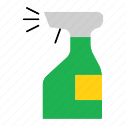 bottle, clean, disinfectant, household, spray, spray bottle icon