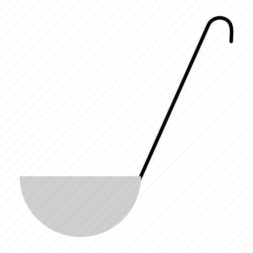 cooking, household, kitchenware, ladle, soup ladle, spoon icon