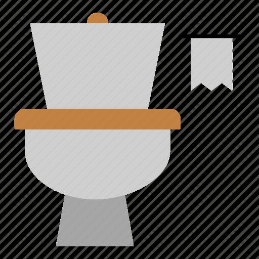 bathroom, household, lavatory, plumber, restroom, toilet icon