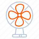 appliance, device, electric, fan, household icon