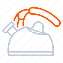 appliance, device, household, kettle icon