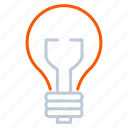 appliance, bulb, device, household, light icon