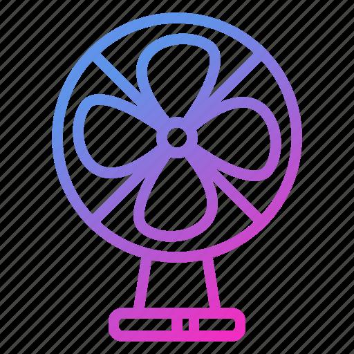 appliance, device, electric, fan, household icon