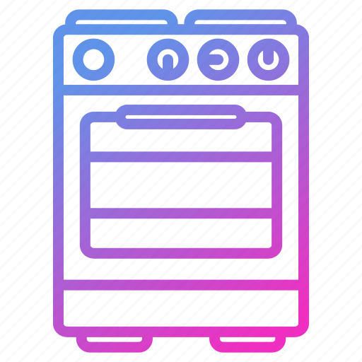appliance, device, household, oven icon