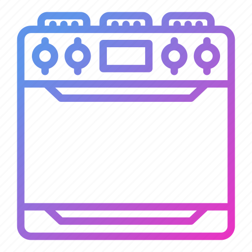 appliance, device, household, stove icon
