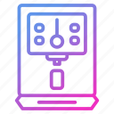 appliance, device, household, purifier, water icon