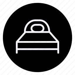 appliances, bed, furniture, house, household, interior, room icon