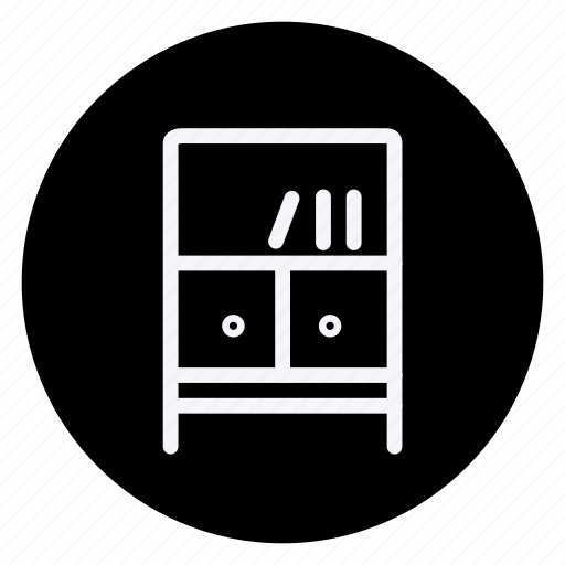 appliances, bookself, furniture, house, household, interior, room icon