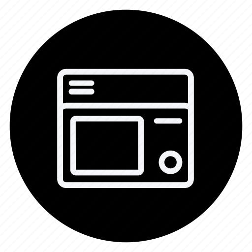 appliances, furniture, house, household, interior, microwwave, oven icon
