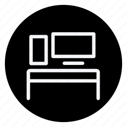 appliances, computer, furniture, house, household, interior, monitor icon