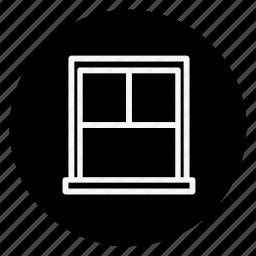 appliances, furniture, house, household, interior, room, window icon