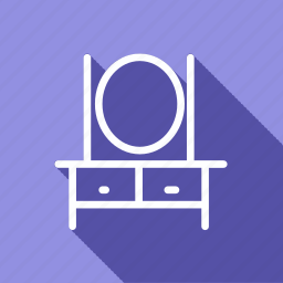 appliances, dressing table, electronic, furniture, home, household, interior icon