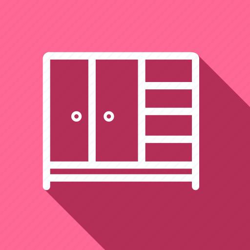 appliances, drawer, electronic, furniture, home, household, wardrobe icon