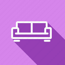 appliances, couch, electronic, furniture, home, household, sofa icon