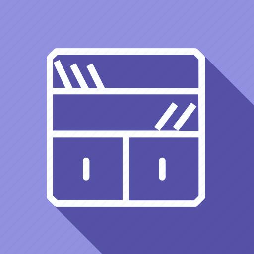 appliances, bookshelf, electronic, furniture, home, household, interior icon