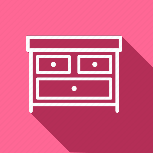 appliances, drawer, electronic, furniture, home, household, interior icon