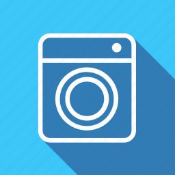 appliances, electronic, furniture, home, household, interior, washing machen icon