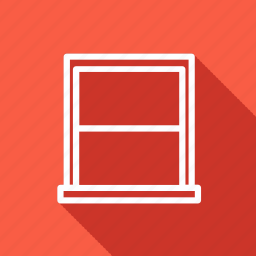 appliances, electronic, furniture, home, household, interior, window icon