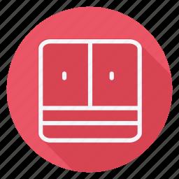 appliances, furniture, house, household, interior, room, weardrobe icon