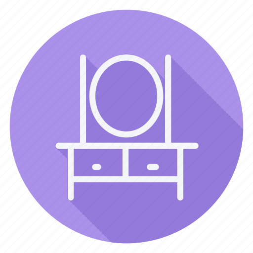appliances, dressingtable, furniture, house, household, interior, room icon