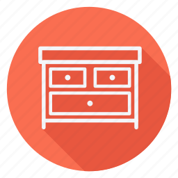 appliances, drawer, furniture, house, household, interior, room icon
