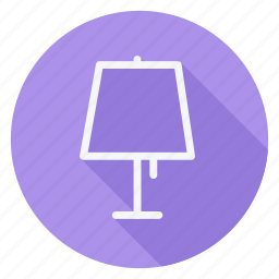 appliances, furniture, house, household, interior, lamp, light icon