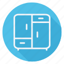 appliances, furniture, house, household, interior, room, weardrobe icon
