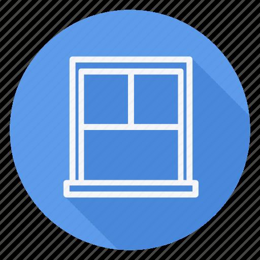 appliances, furniture, house, household, interior, room, windows icon