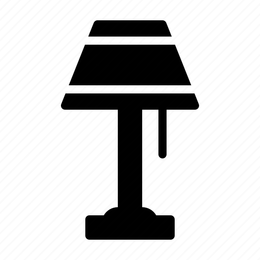 Furniture, home, housekeeping, interior, lamp, living icon - Download on Iconfinder