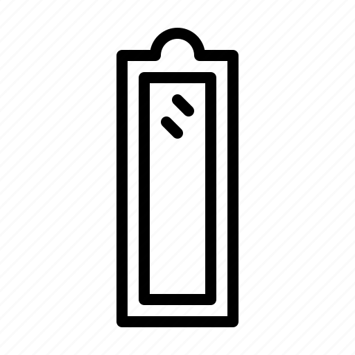 Furniture, home, housekeeping, interior, living, mirror icon - Download on Iconfinder
