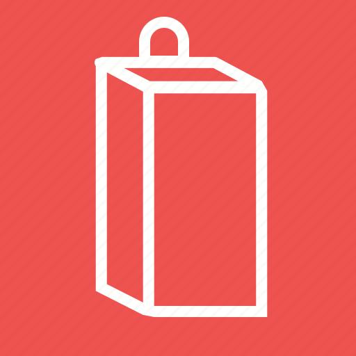 box, carton, drink, food, juice, milk, pack icon
