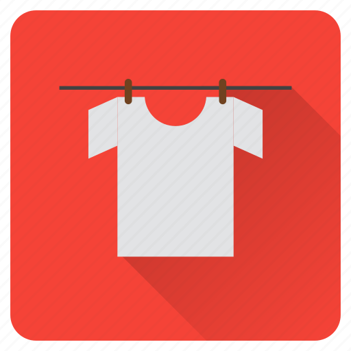 chores, clothes, dry, hang, household, laundry, task icon