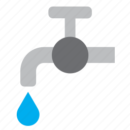 drop, droplet, faucet, guardar, save, tap, water, water tap icon