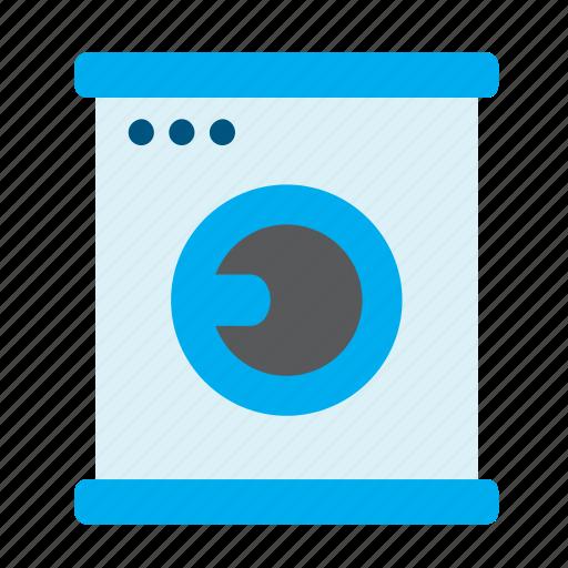 cleaning, equipment, housekeeping, housework, laundry, washer, washing machine icon
