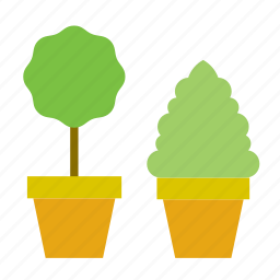 decoration, flowerpot, garden, gardening, nature, plant, pot icon
