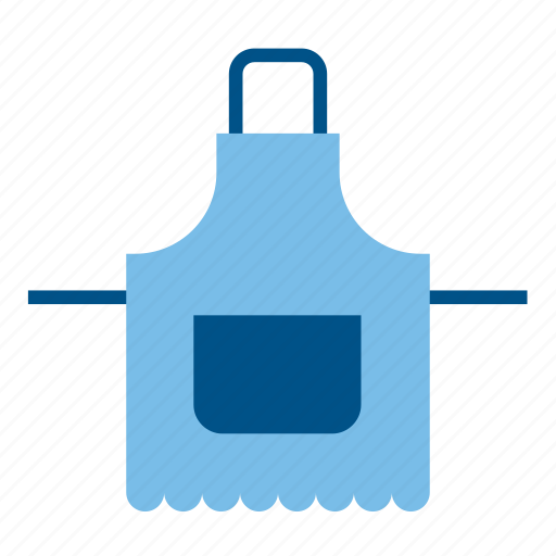 apron, cook, cooking, housekeeper, housekeeping, housework, kitchen icon