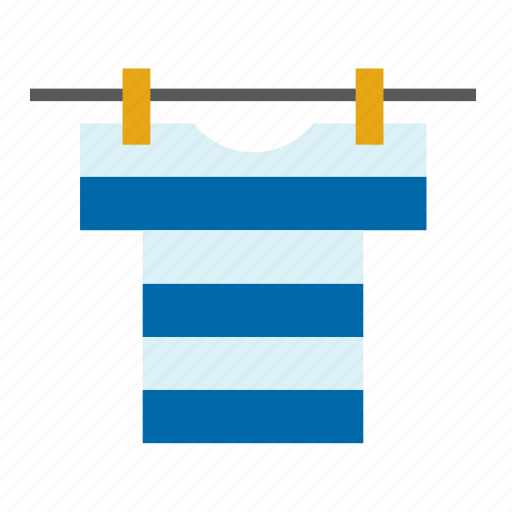 clothes peg, clothespin, hang out, hang up, laundry, t-shirt, wash icon