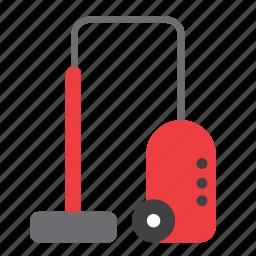 broom, cleaning, closet, equipment, housekeeping, housework, vacuum cleaner icon