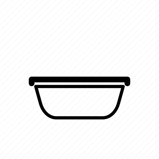 basin, bowl, bucket, cleaning, plastic, wash icon