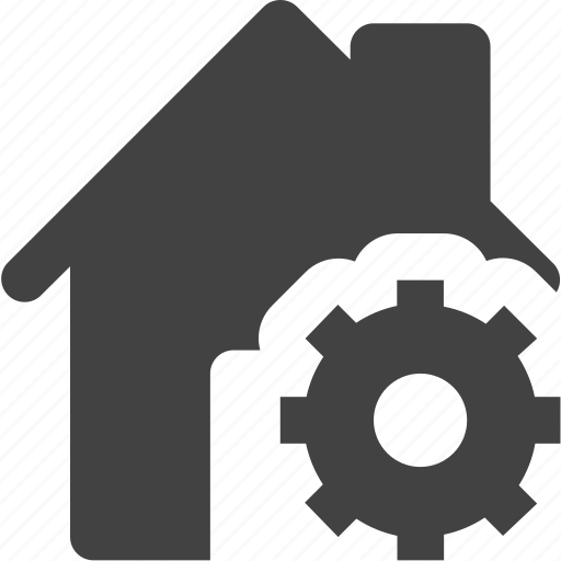 estate, house, real, setting, settings icon