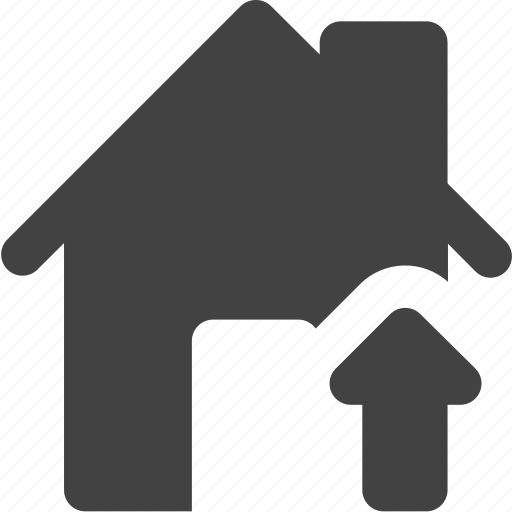 estate, house, real, up icon