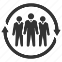 agent, employer, hr, manager, personnel, staff, workforce icon