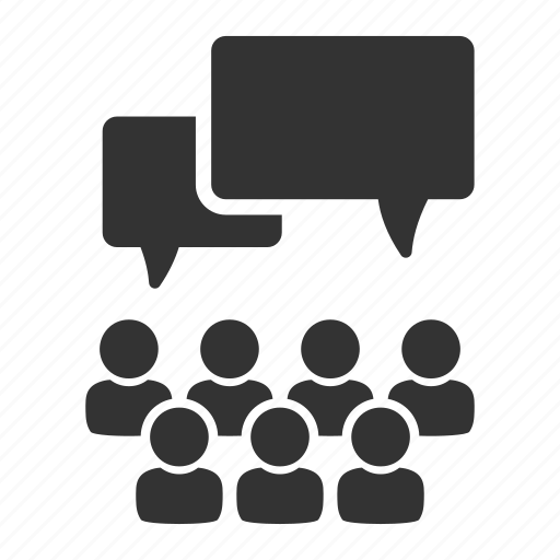 comments, conversation, dialogue, feedback, hr, opinion, recruitment icon