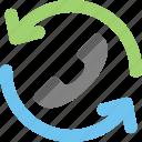 full time help center, full time helpline icon