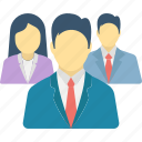business group, business partners, business people, company, employees icon